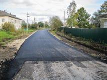 Dróg naprawy w Kaluga regionie w Rosja Fotografia Stock