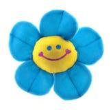 drôle de fleur de visage souri photographie stock libre de droits