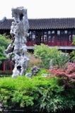 Dröja sig kvar det trädgårds- Guanyun maximumet Arkivfoto