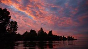 Dröm- ö i havet royaltyfria bilder