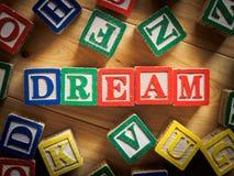 Dröm- begrepp Fotografering för Bildbyråer