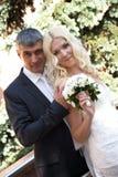 Dröm- bröllopsresa Arkivfoto
