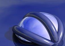dröm för 01 blue Royaltyfri Foto