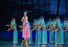 """Dröm för """"The för Amahvagga-dans drama av maritim siden- Road† royaltyfri bild"""