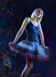 dröm- fantasi för balett Arkivfoto