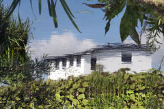 Dröm- hus Arkivbilder