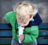 dröm- icecream Arkivbilder