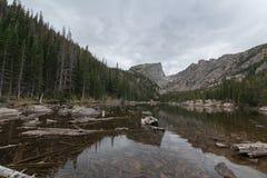 dröm- lake Fotografering för Bildbyråer