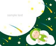 dröm- meteor vektor illustrationer