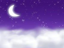 dröm- midnatt Arkivfoton