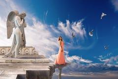 Dröm som flyger. Royaltyfri Fotografi