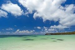 Dröm- strand Arkivbild