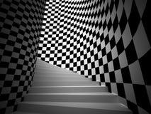 Dröm- trappa Fotografering för Bildbyråer