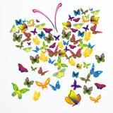 dröm- vektor för fjäril Royaltyfri Fotografi