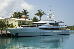 dröm- yacht Royaltyfri Fotografi
