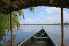 Drömlik dag på de Keralan avkrokarna Fotografering för Bildbyråer