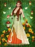 drömlik fe Royaltyfria Bilder