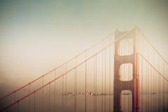Drömlik Golden Gate Arkivbilder