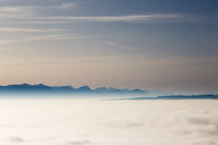 Drömlik horisont Fotografering för Bildbyråer