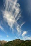 drömlik sky Arkivbild