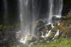 drömlik vattenfall Royaltyfria Bilder