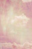 Drömlika bakgrunder med moln Arkivfoton