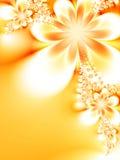 drömlika blommor Royaltyfria Bilder
