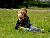 drömlikt barn Fotografering för Bildbyråer