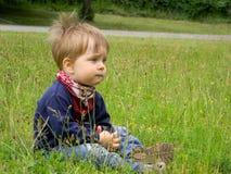 drömlikt barn Arkivfoto