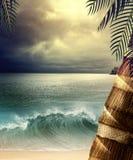 Drömlikt hav Arkivbilder