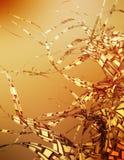drömm guld- stock illustrationer