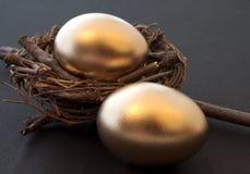 drömm guld- Royaltyfria Bilder