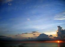 drömm soluppgångtid Royaltyfria Bilder
