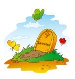 drömm tomben Royaltyfria Foton
