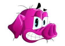 Drömma av förälskelsesvinet Drömlikt svin Piggys ner Dröm om förälskelse vektor illustrationer