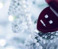 Drömma av jul - feriegåva för henne arkivbild