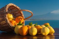 Drömma av Sicilien Royaltyfri Fotografi