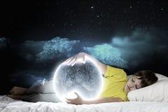 Drömma för natt Royaltyfria Foton