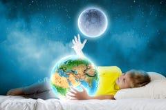 Drömma för natt Arkivbild