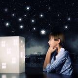 Drömma för natt Arkivbilder