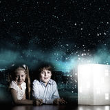 Drömma för natt Fotografering för Bildbyråer