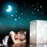 Drömma för natt Royaltyfri Bild