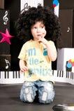 drömma musik för pojkekarriär Royaltyfri Bild