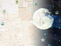 Drömma och minnesbegrepp stock illustrationer