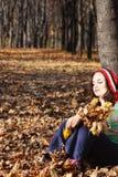 drömma skog för höst Royaltyfria Foton