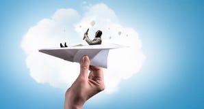 Drömma som är flygare Blandat massmedia Blandat massmedia Royaltyfri Fotografi