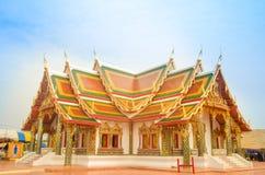 Drömma templet i Thailand Royaltyfri Fotografi