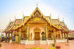 Drömma templet i Thailand Arkivbilder