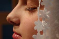 drömma tonåring Fotografering för Bildbyråer