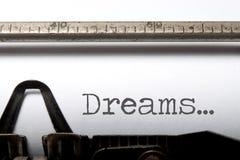 drömmar Fotografering för Bildbyråer